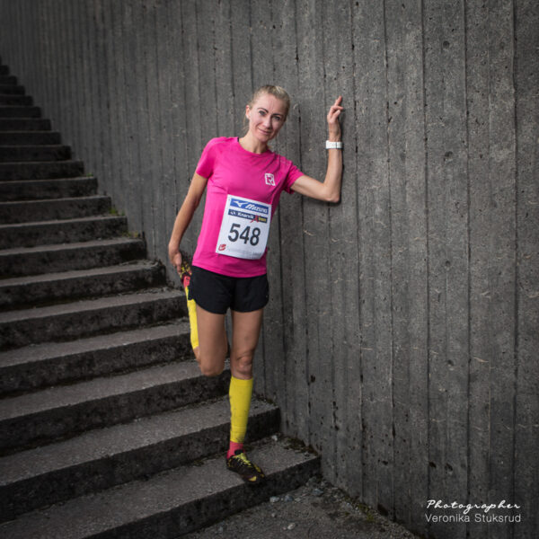 Knarvik Xtrem 5 km - Kristin Fonnes Romarheim
