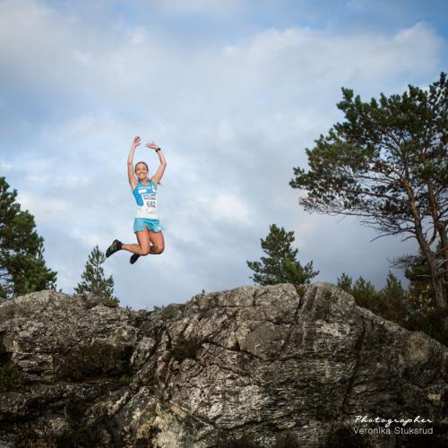Knarvik Xtrem 10 km - Anita Iversen Lilleskare