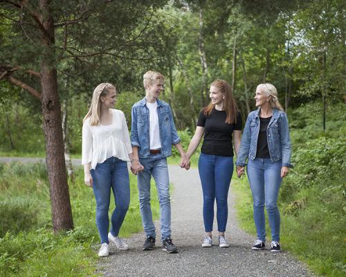 Familien Haugland