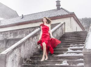 Modell: Madeleine Ask Stuksrud