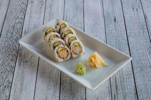 Fish Me Food Tempura Maki Classic.Foto: Veronika Stuksrud
