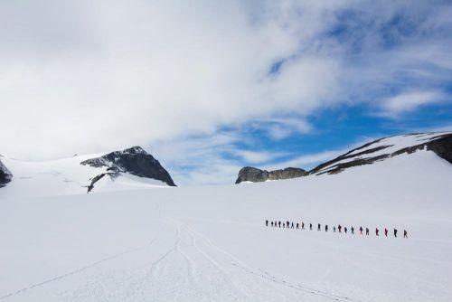 Galdhøpiggen.Foto: Veronika Stuksrud