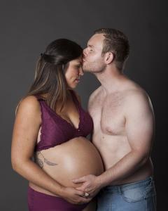 Gravid-foto i Bergen. Foto: Veronika Stuksrud