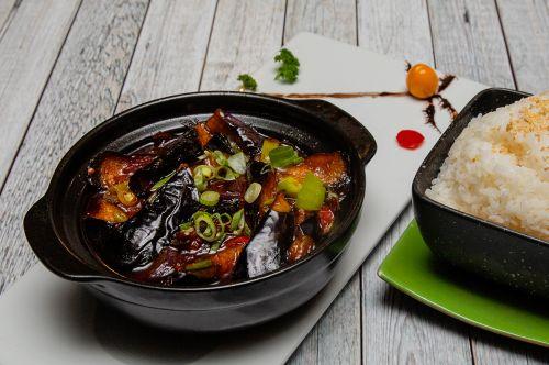 Soya Restaurant Food Aubergine Hot Pot.Foto: Veronika Stuksrud