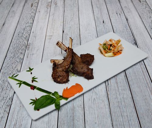Soya Restaurant Food Lammecarre.Foto: Veronika Stuksrud